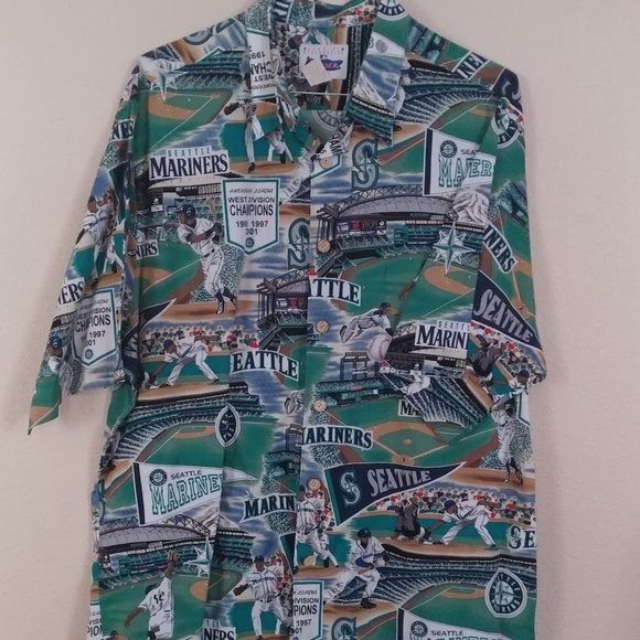 20ce16cc reyn spooner Shirts | Seattle Mariners Hawaiian Shirt | Poshmark